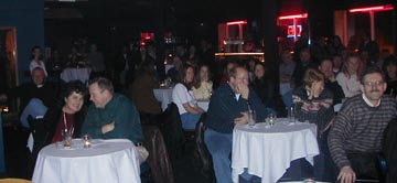 stand up comedy audience